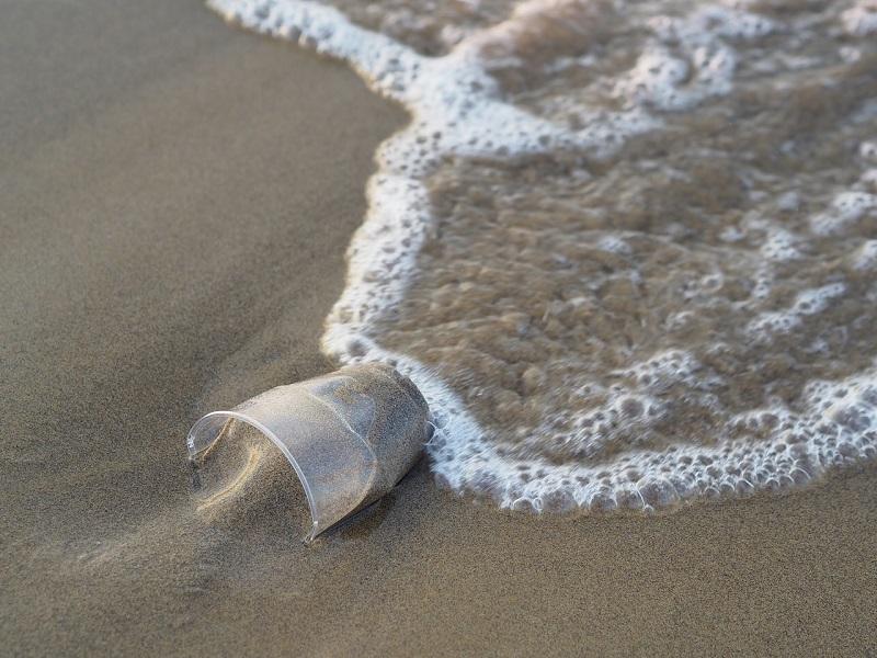 La basura termina en el mar