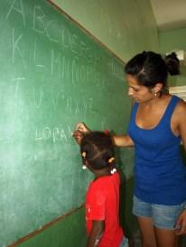 Aprendiendo el abecedario