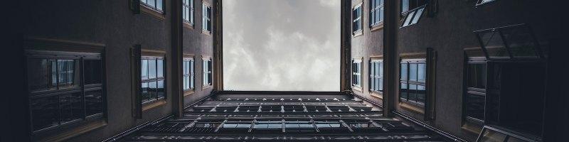Looking Through Buildings to Sky