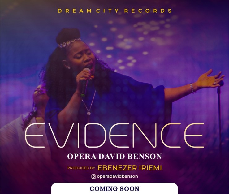 Opera David Benson Readies The Release Of New Song Evidence