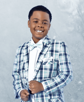 BGA Entertainment Signs 10-YEAR Old Preacher and Singer Antonio Tucker