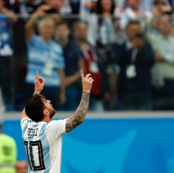 World Cup 2018 : 'I Knew God Was With Us ,' Lionel Messi Says After Argentina Defeats Nigeria