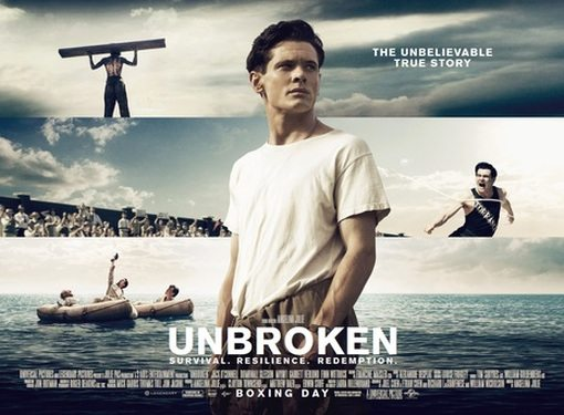 "Movie "" Unbroken "" - Path To Redemption Set To Be Released on September 14"