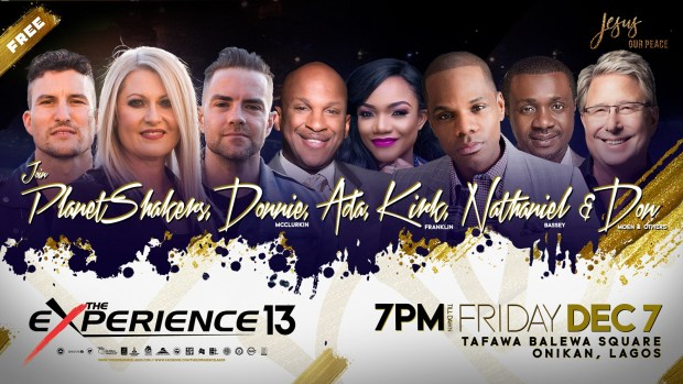 Live Stream The Experience Lagos 2018 tagged Jesus Our Peace