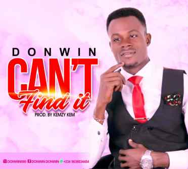 Donwin - Can't Find It (Free Mp3 Download)