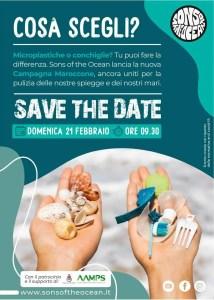 pulizia spiaggia Maroccone 21/02/2021