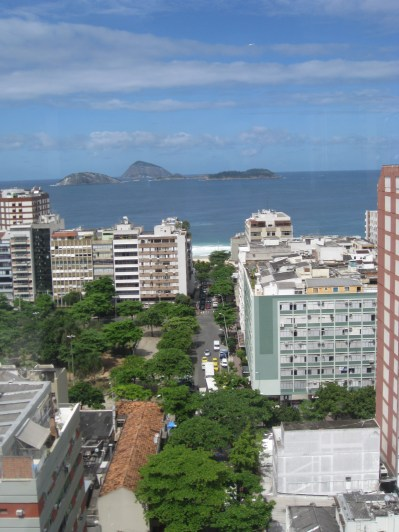 View over the Ipanema