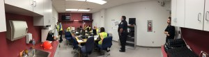 Incident Command Center at Bakersfield College