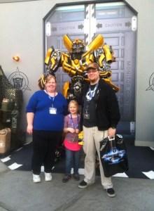 Tom Leola and Jen at Universal Studios