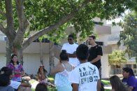 05 - Student mentors speak to camp-goers