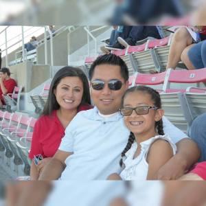 Romeo Algbalog, Lucy Perez, Victoria Agbalog