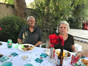 Nicky Damania's parents May 2 2017