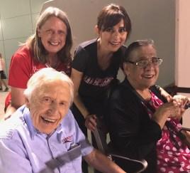 Clint Walker, Janet Tarjan, Sonya Christian, Pam Christian