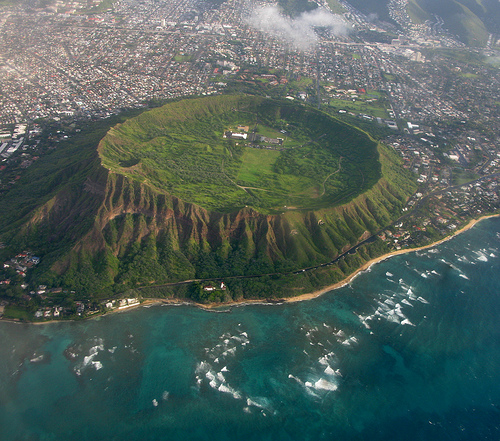 Diamond Head in Hawaii