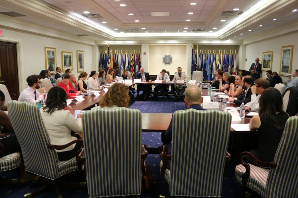 GI Bill Roundtable at VFW Headquarters Washington DC July 13 2017