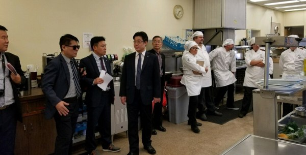 Culinary students Korean Delegation Oct 15 2017