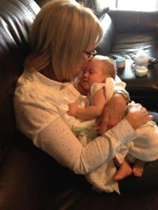 Liz Rozell with grand daughter from FAcebook Oct 13 2017