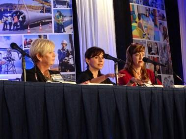 Sonya Christian presenting at the Workforce Summit