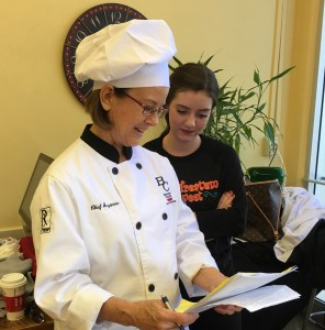 Em and Chef Suzanne