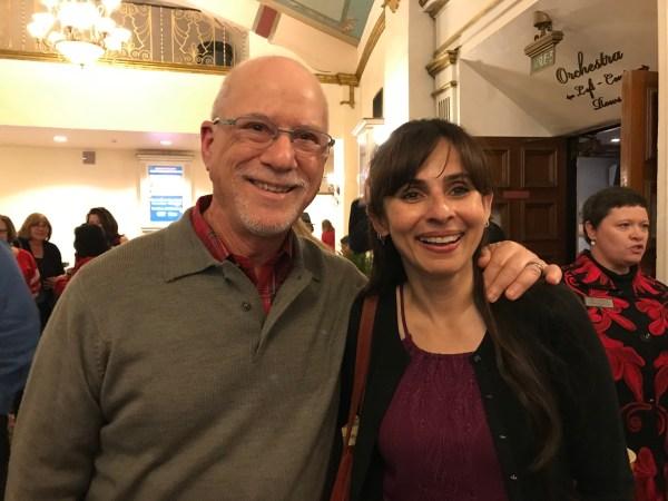 Ron Kean and Sonya Christian