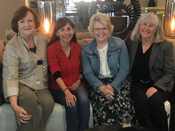 Kay McClenney, Sonya Christian, Laura Hope, Janet Fulks Dec 1 2017