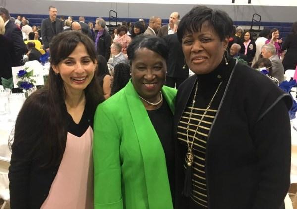 Sonya Christian, Odella Johnson, Valerie Robinson