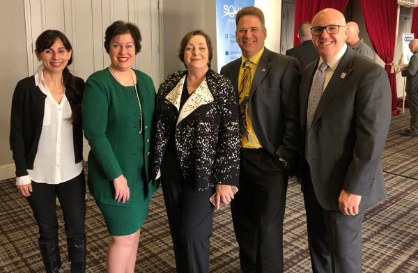 Sonya Christian, Reagan Romali, Susan Bray, Joe Wyse, Willy Duncan Feb 21 2018