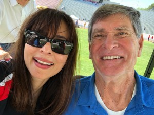 Sonya Christian, Jim Ryun Selfie May 18 2018