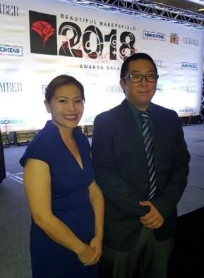 Connie Gonzalez and Jonathan Kim