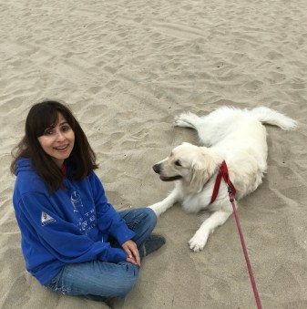 June 20 2018 Sonya Christian and Neo on the beach in Marina Del Rey