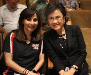 Sonya Christian and Karen Goh