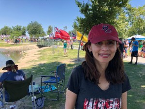 Sonya Christian at 1000 Flags Riverwalk May 28 2018