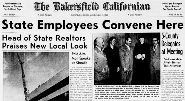 Gloria McLean cover Californian
