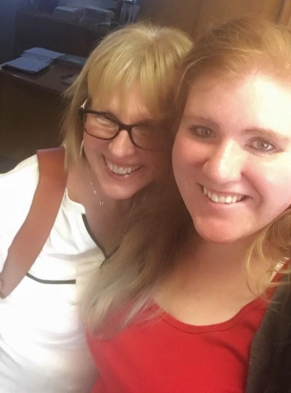 Liz Rozell and Monika Scott
