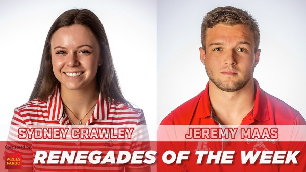 Renegades of the Week - Sydney Crawley and Jeremy Maas