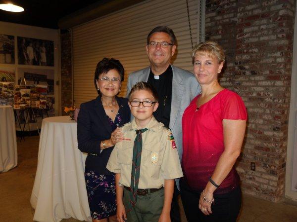Karen Goh, Craig Harrison, Billie Jo Rice Scouts annual event Sep 7 2018.jpg