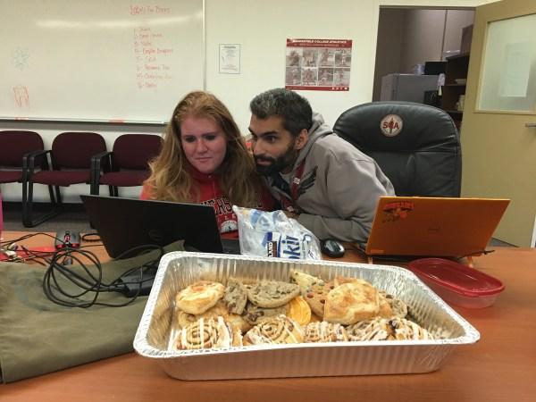 Monika and Nicky computer training