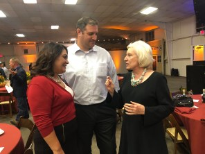 Norma Mike and Senator Jean Fuller