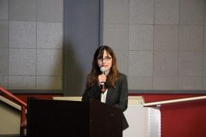 Sonya Christian addressing BOT on Naming the VRC