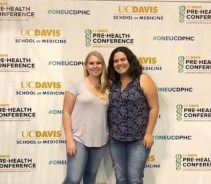 UCD Pre health Conference - Natali Madrigal-Ortiz and Rebecca Sinor