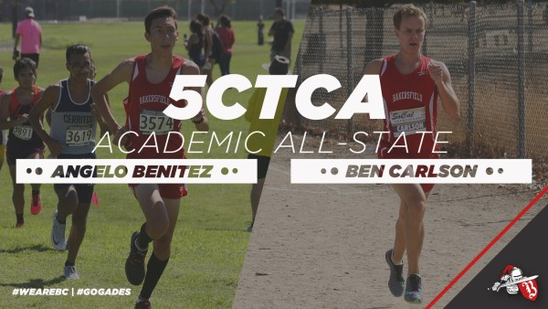5CTCA Academic All-state Angelo Benitez and Ben Carlson #wearebc | #gogades