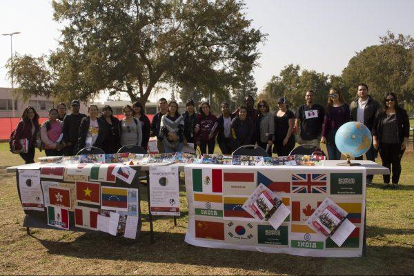 International Education Week students