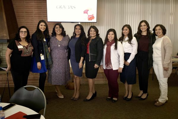 Group of female Chicano Latino Community Leaders