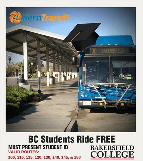 BC Students Ride Free