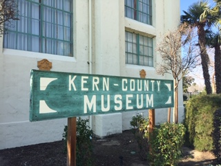 Kern County Museum sign