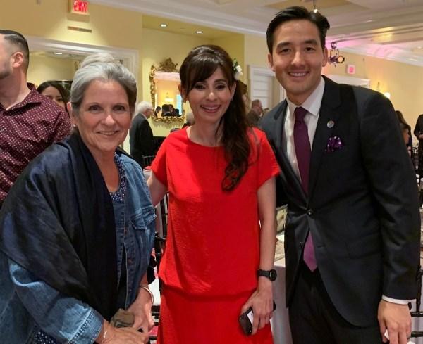Nan Gomez-Heitzeberg, Sonya Christian, and Kiyoshi Timono
