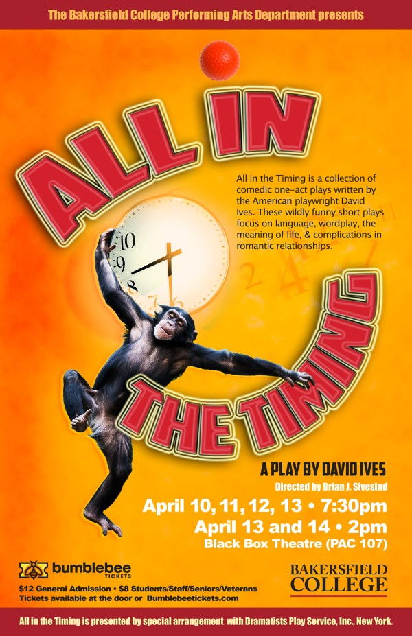 All in the Timing poster