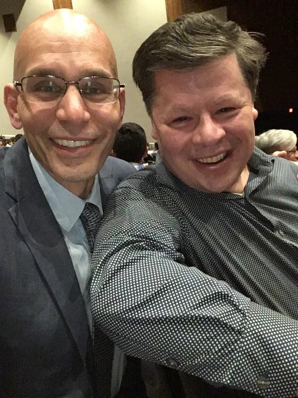 Manny and Richard Chapman, KEDC