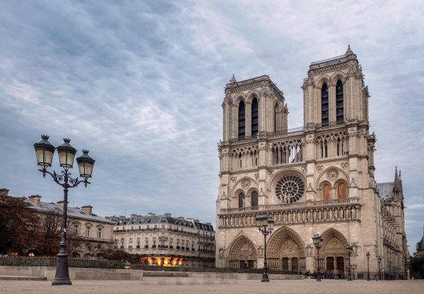 Notre Dame de Paris Cathedral, most beautiful Cathedral in Paris.