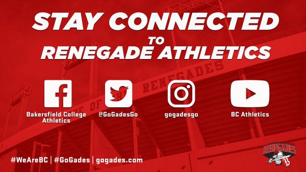 Athletics social media handles